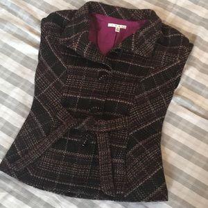 CAbi sleeveless tweed sweater vest with pockets 😍